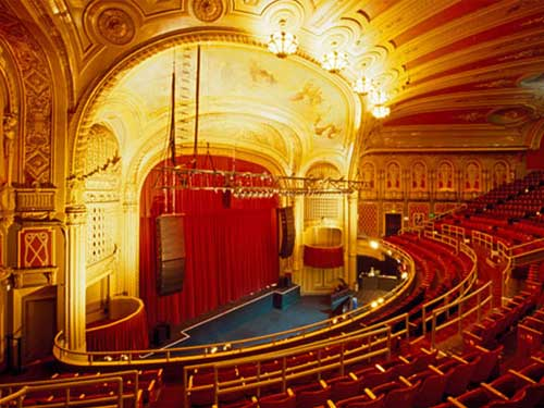 The Warfield Theater – 982 Market Street, San Francisco. (415) 345-0900